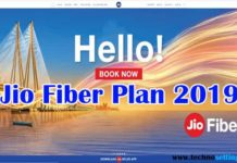 Reliance Jio Fiber Plan 2019