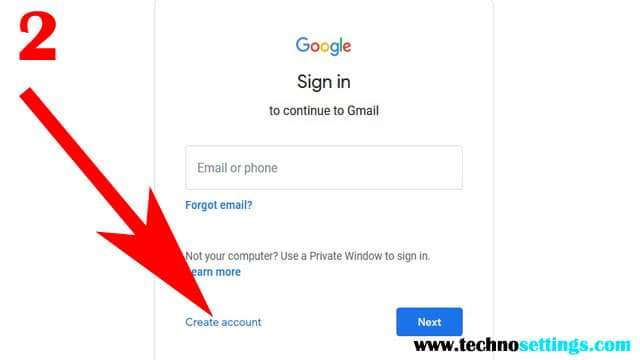 create a new gmail id