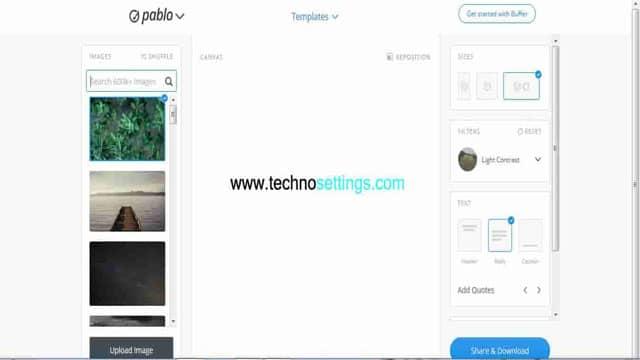 pablo online photo graphics edit tool