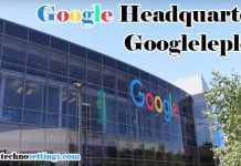 google headquarters address