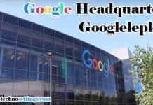 google headquarters address