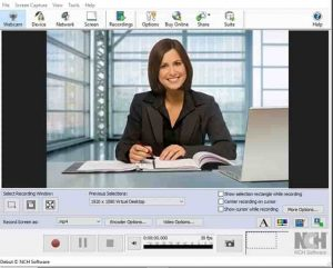 NCH laptop Webcam Software